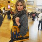 MetroCard Tote Bag Homage to Nora Ephron