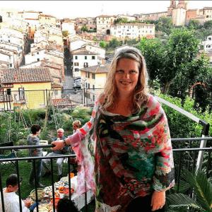 Sheryl Ness in Siena Italy