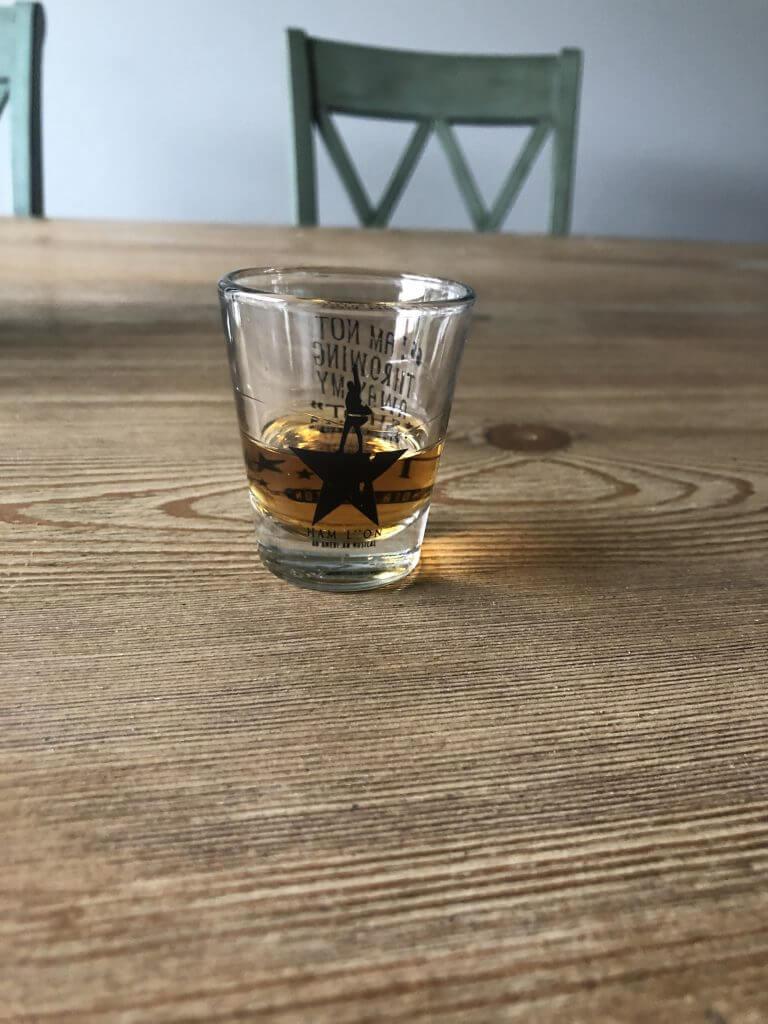 Grand Marnier in Hamilton Shot Glass