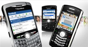 Facebook y Blackberry