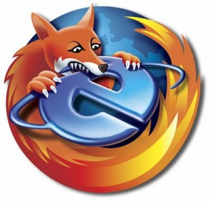 Firefox se come a Explorer