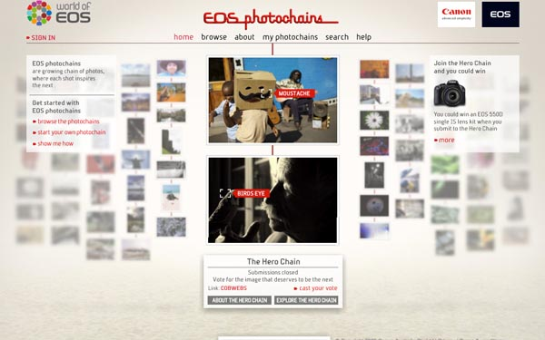 Canon EOS Photochains