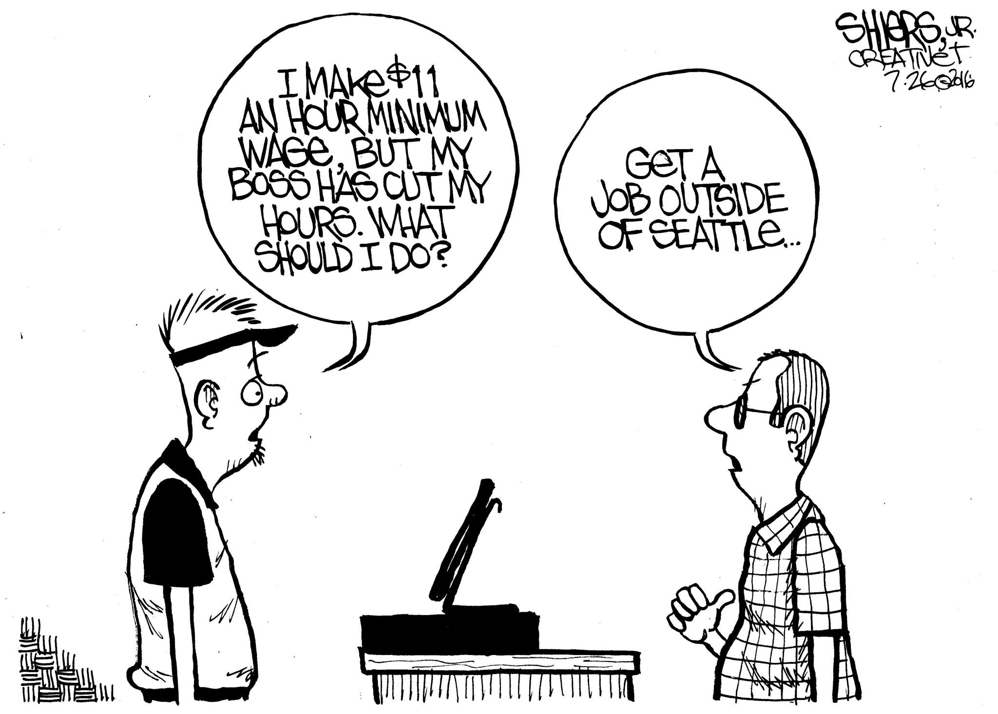 Get A Job Outside Of Seattle