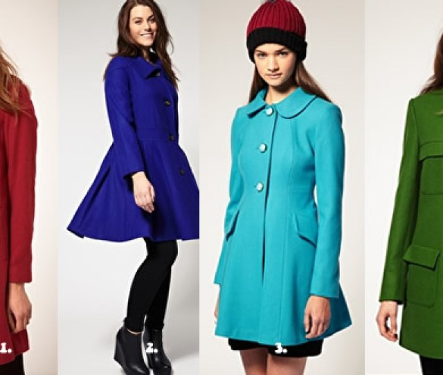 All Colors Affordable Coats All On Sale Colorful Asos Winter Coats