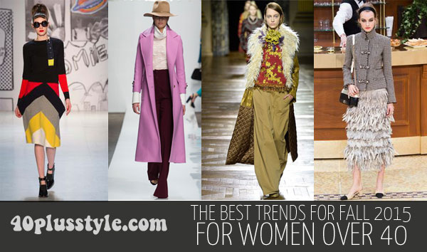 The best trends for fall 2015 for women over 40 | 40plusstyle.com