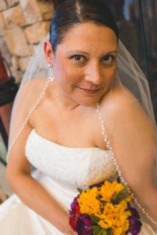 Beautiful bride! Photo, Ashley Simmons