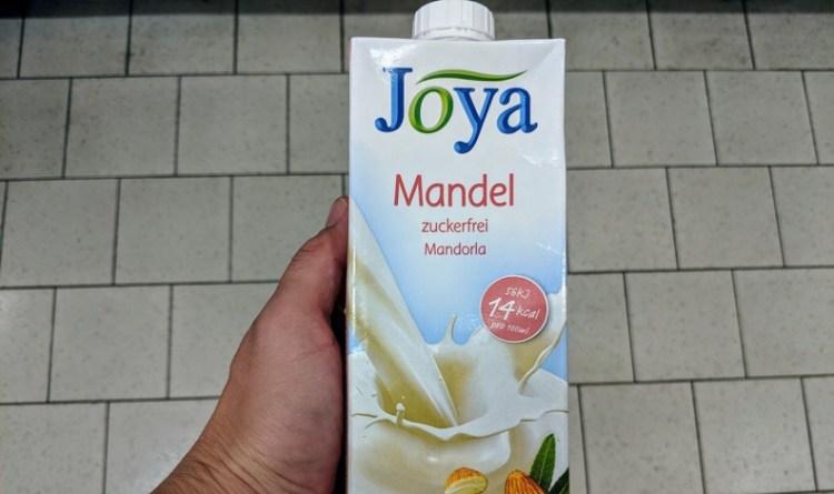 Joya Mandelmilch ohne Zucker - komplett zuckerfrei