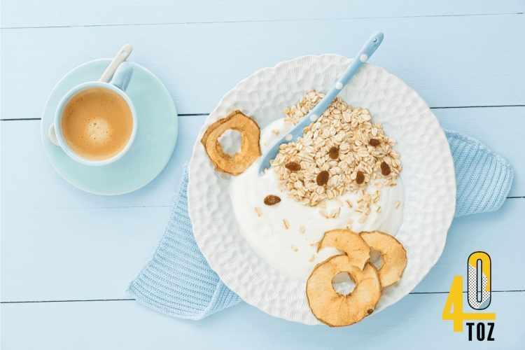 Naturjoghurt mit wenig oder ohne Zucker