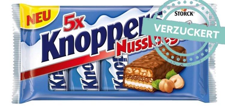 Knoppers Nussriegel im Zucker Check