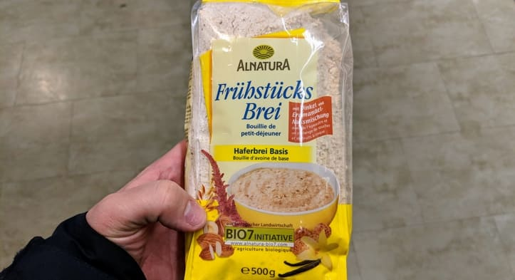 Frühstücksbrei von Alnatura