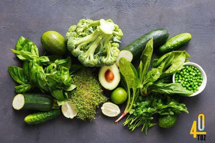 Gemüse mit wenig und ohne Zucker