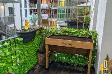 Gemüse Hochbeet Balkon