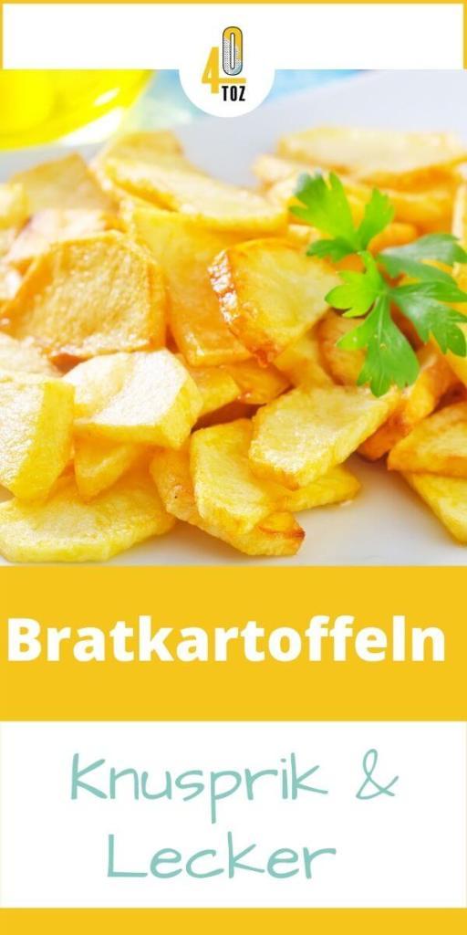 Rezept für Bratkartoffeln mit Speck