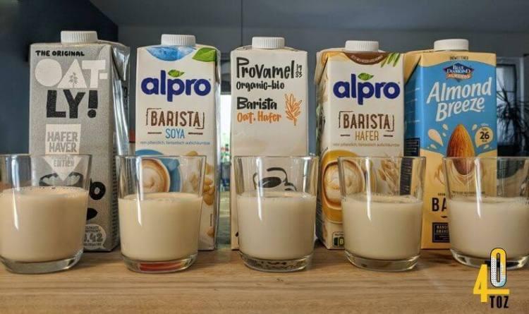 Barista Milchersatz im Vergleich