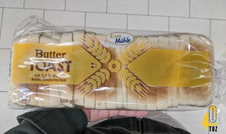 Buttertoast von Korn Mühle