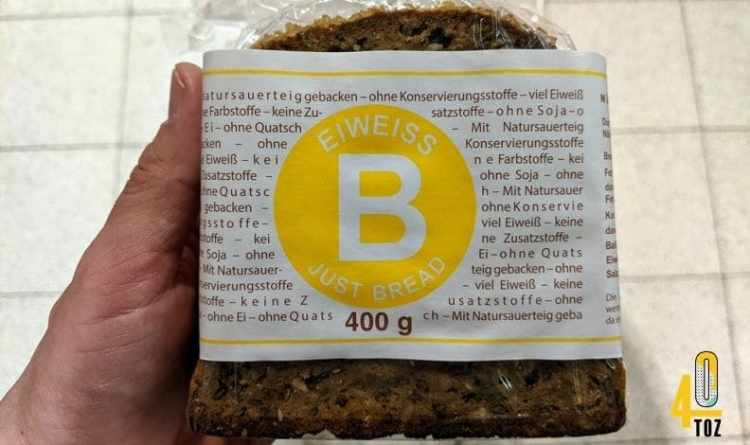 Eiweissbrot von Eiweiss B Brot