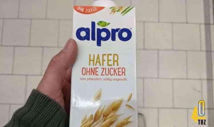 Hafer ohne Zucker von alpro