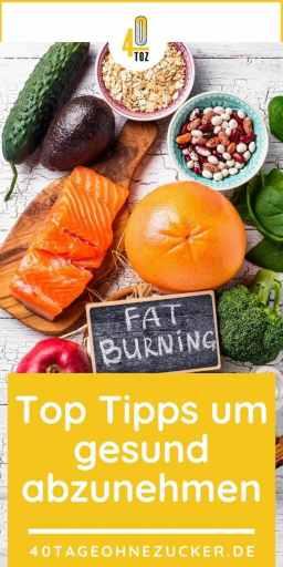 Gesund abnehmen - Top Tipps