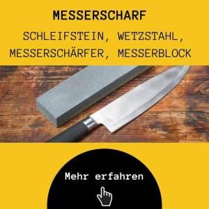 Messerschärfer für Kochmesser