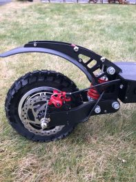 bild bakhjul rotated Elscooter Ghostride 2400 Xtreme