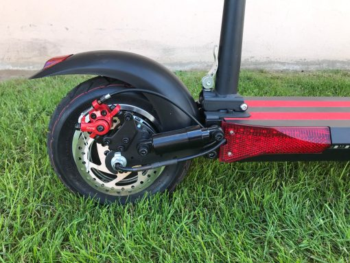 superfly bakhjulet scaled   Elscooter Superfly 500W 2.0