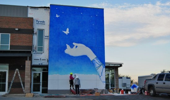 Action Center Mural, Martha Pinkard-Williams