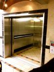 Secret elevator open