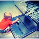 Indy playing on the dishwasher prt 5