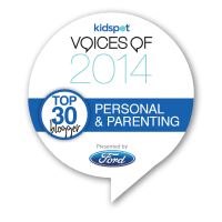 Kidspot Voices of 2014 Top 30 Finalist