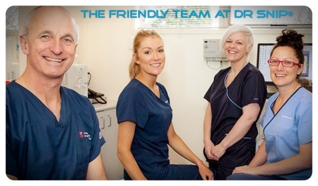 The friendly team at Dr Snip