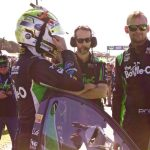 Mark Winterbottom gets ready to race.