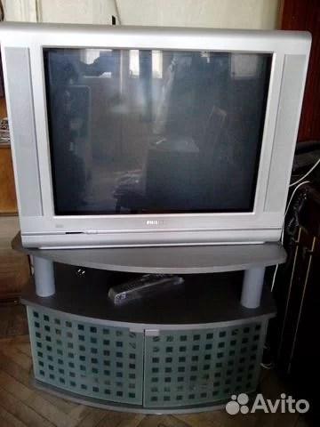 Телевизор Филипс с тумбой купить в Москве на Avito ...