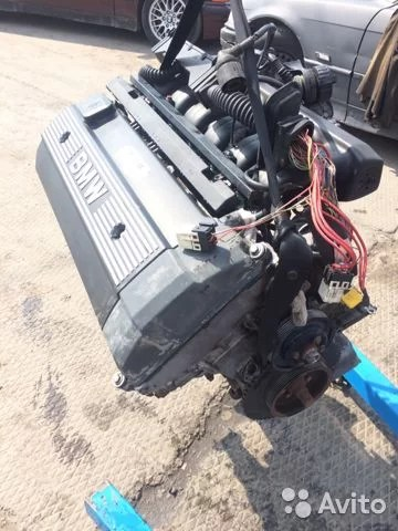 Двигатель BMW e34 m50b25 без ванос (бмв е34 м50) купить в ...