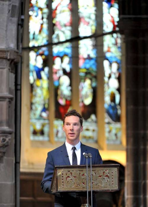 The League of British Artists, with Karen V. Wasylowski: Benedct Cumberbatch \'proud\' to have read at burial of ancestor Richard III