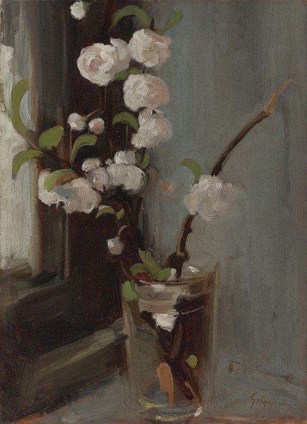 huariqueje: Apple Blossom - Nicolae Grigorescu 1968–90 Romanian 1838-1907