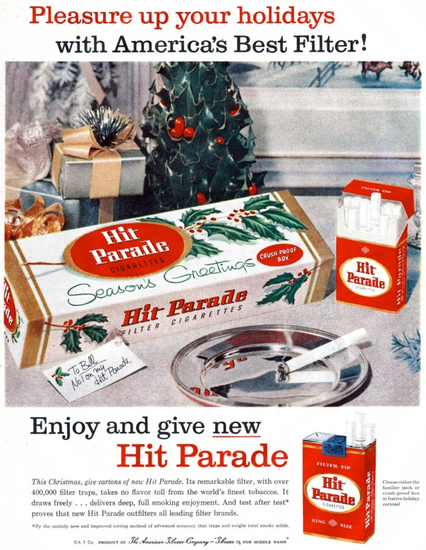 Hit Parade Cigarettes - 1958