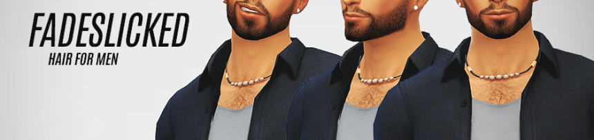 Coiffure homme Sims 4