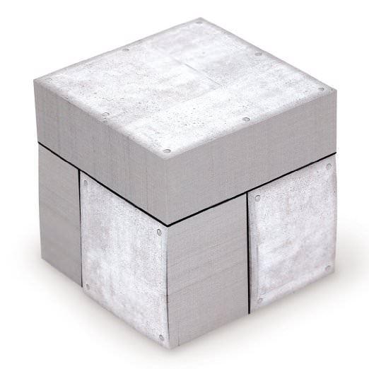まるもの メモキューブ コンクリート