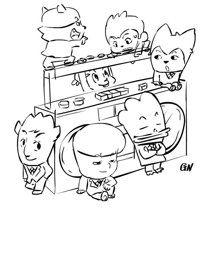 Webtoon Hip Hop Monster Epilogue 150713