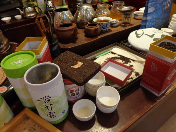 Pu-erh Tea demostration
