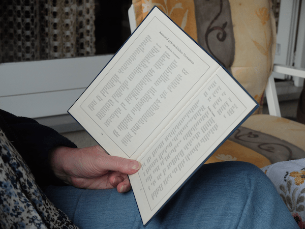 mangia minga // 'A German Stammbuch - browsing through family history'