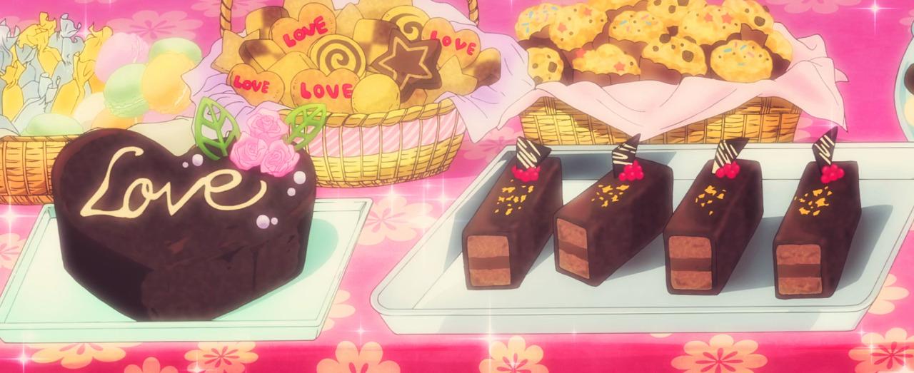 fuckyeahanimefood:Valentine's Desserts, Log Horizon 2, Episode 13.