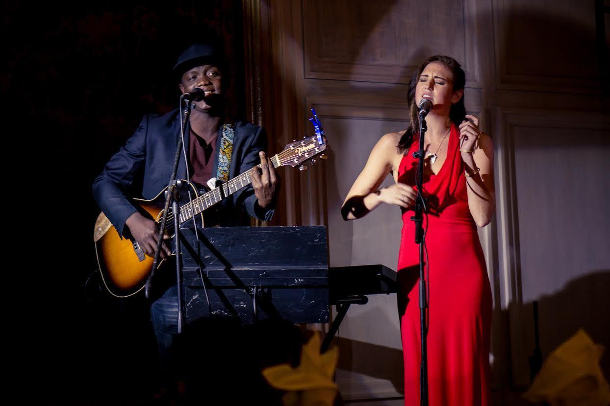 Zimbabwean artists Gemma Griffiths and Brian Kadengu
