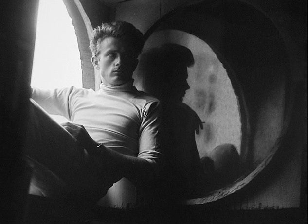 James Dean, 1954, photo by Roy Schatt