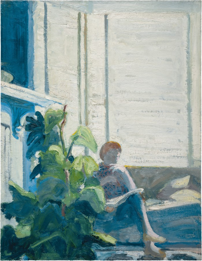 art-pickings:  Paul John Wonner (1920 – 2008, American) Figure by Window, 1962