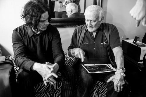 Jack White and Buzz Aldrin