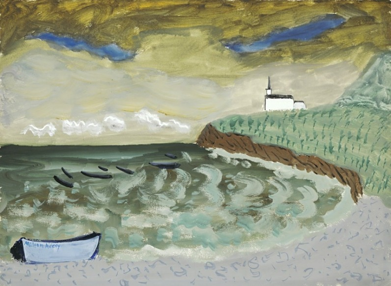 lilithsplace:  Church by the Sea, 1939 - Milton Avery (1885–1965)