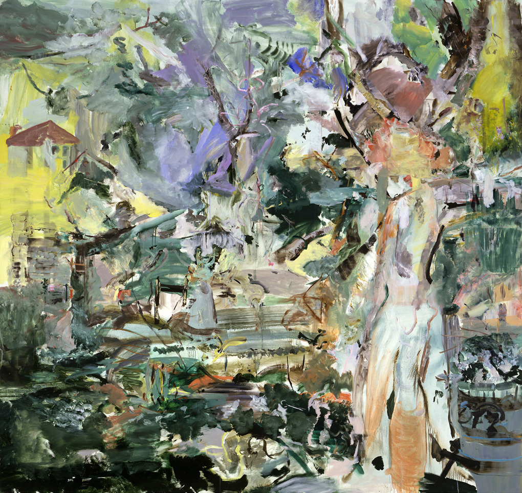 thunderstruck9: Cecily Brown (British, b. 1969), Shadow Burn, 2005-06. Oil on linen. via jimlovesart
