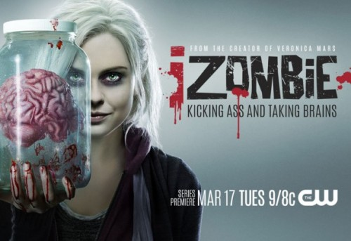 "</p><br /><br /> <p>iZOMBiE ""Pilot"" </p><br /><br /> <p>Reviewed by Miranda Boyer </p><br /><br /> <p>When I heard about iZOMBiE<br /><br /><br /> I sort of rolled my eyes at the prospect of yet one more zombie tail. Then I<br /><br /><br /> instantly shrugged it off and decided I would watch it. After all, I'm sort of<br /><br /><br /> a sucker for a new spin on an old story, particularly when I heard who was<br /><br /><br /> involved in the making. Veronica Mars<br /><br /><br /> creator Rob Thomas tells a new story of the undead. A story that is funny,<br /><br /><br /> maybe even a little campy, and full of feels. </p><br /><br /> <p>Since I've recently finished reading Warm Bodies, I couldn't<br /><br /><br /> help but draw a few similarities between the zombie attributes. When either R<br /><br /><br /> (Warm Bodies) or Liv (iZOMBiE) eat brains they get flashes of<br /><br /><br /> what that persons life was. There is a more human side to the zombies, while in<br /><br /><br /> both universes they can be horrifically violent as well. </p><br /><br /> <p>iZOMBiE is loosely based on the comic<br /><br /><br /> book series by Chris Roberson and Michael Allred, and is a story about a driven<br /><br /><br /> doctor named Liv (Rose Mclver) who was infected by the undead and finds her<br /><br /><br /> life coming to a halt. Liv copes with her ""affliction"" and the growing<br /><br /><br /> disconnection from her family and friends. She now works for the coroner's<br /><br /><br /> office where she has an ample supply of brains and with her brain inherited<br /><br /><br /> knowledge she helps to solve crimes. </p><br /><br /> <p>If this show makes it, and I hope it does, Rose Mclver is going<br /><br /><br /> to be the reason. She is easy to watch and nails the deadpan comedy in such a<br /><br /><br /> way that everyone will have no choice but to keep watching. In the pilot we<br /><br /><br /> meet an array of new cast, something that feels heavy for the first episode,<br /><br /><br /> but should ease as the show continues. There is a lot of story to tell and I've<br /><br /><br /> no doubt that Rob Thomas will do it well. </p><br /><br /> <p>What I appreciated most about this show was how fun it was.<br /><br /><br /> Between the comic book nods, to the flashbacks, the filming was beautiful. I'm<br /><br /><br /> not sure if were seeing anything that new, but a crime show with a zombie twist<br /><br /><br /> is something I'll happily watch.</p><br /><br /> <p>What did you think of iZOMBiE?  </p><br /><br /> <p>"