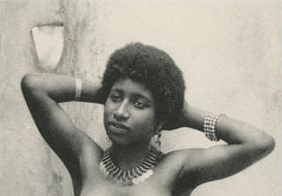 Young Black Algerian Woman c.1910s